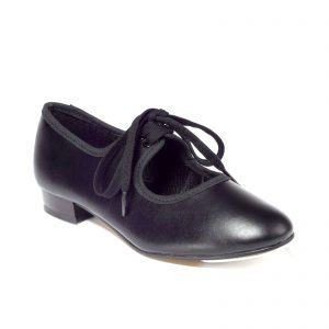 Low heel tap shoes