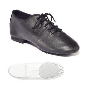 Split soled jazz shoe with leather upper and suede sole Aberdeen