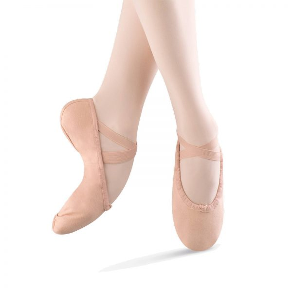 Bloch SO277L canvas ballet shoes Aberdeen