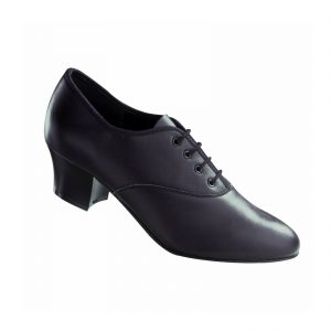 Freed Cuban heel leather oxford
