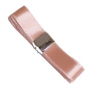 Pink satin ballet ribbon